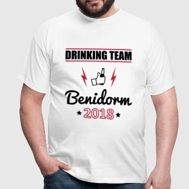 Drinking Team Benidorm - Men's T-Shirt