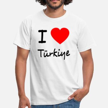 I Love Istanbul I LOVE TURKEY - T-shirt Homme