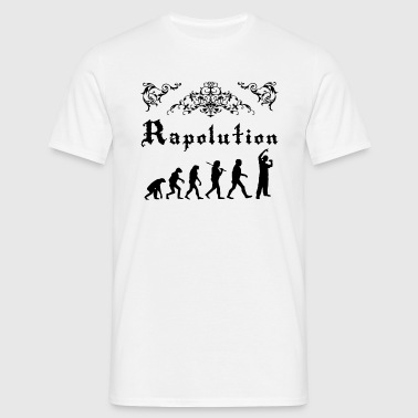 Rap Evolution - Men's T-Shirt