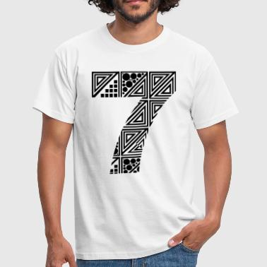 7 number seven - Men's T-Shirt