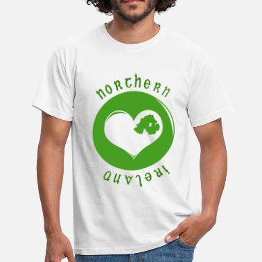 Northern Ireland northern_ireland_heart - Men's T-Shirt