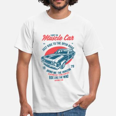 Muscle Car Muscle Car - Männer T-Shirt