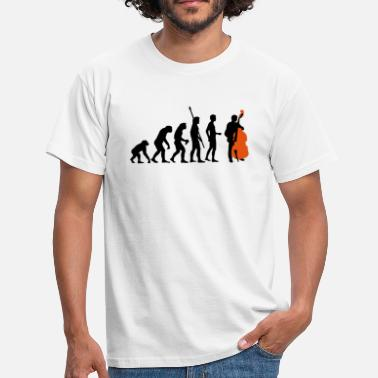 Bass evolution_bass_2c - Mannen T-shirt
