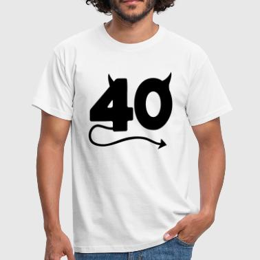 40th Birthday - Männer T-Shirt