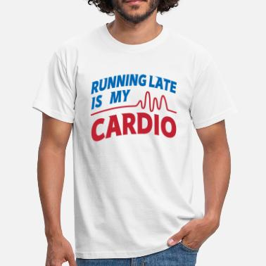 Wretch Cardio Running Late Graphic - Men's T-Shirt