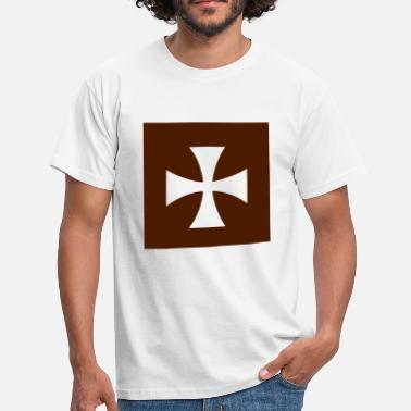 Maltese Cross Cross Malta Knights - Men's T-Shirt