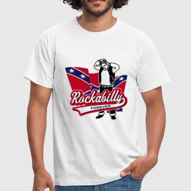 Rockabilly Forever - Men's T-Shirt