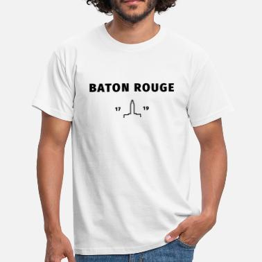 Rouge Baton Rouge - Men's T-Shirt
