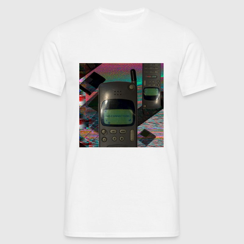 Glitch Art  - Männer T-Shirt