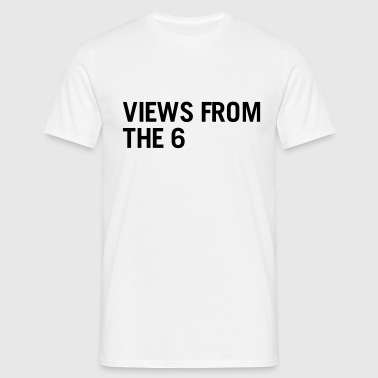 Views from the 6 - Herre-T-shirt