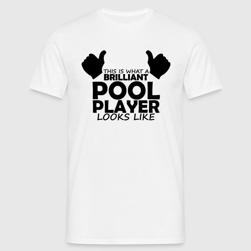 brilliant pool player - Men's T-Shirt