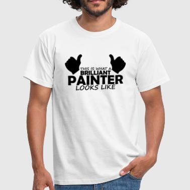 Painter brilliant painter - Men's T-Shirt