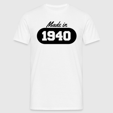 Made in 1940 - Men's T-Shirt