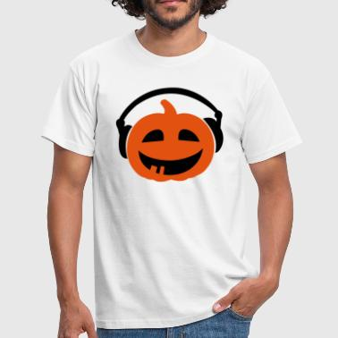 Pumpkin Pumpkin DJ - Men's T-Shirt