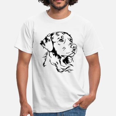 Retriever GOLDEN RETRIEVER Portrait Wilsigns - Men's T-Shirt
