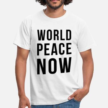 World Peace World Peace - Männer T-Shirt