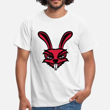 Halloween Hasen Hase monster halloween  - Männer T-Shirt