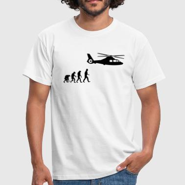 helikopter evolution - Männer T-Shirt
