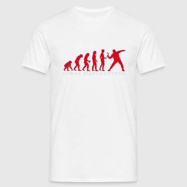 human (r) evolution - Men's T-Shirt
