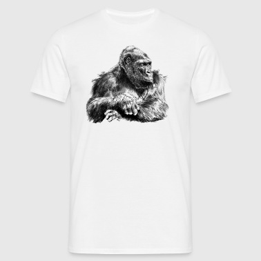 gorilla - T-skjorte for menn