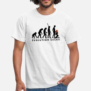Xxx Blasen evolution_sucks_b_2c - Männer T-Shirt