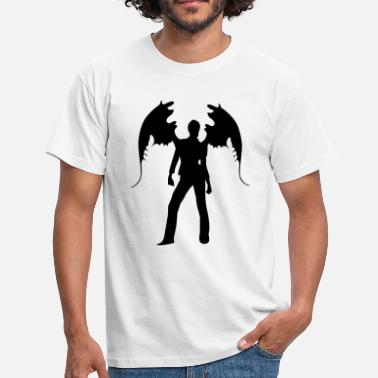 Sex Duivel angel sexy woman sex - Mannen T-shirt