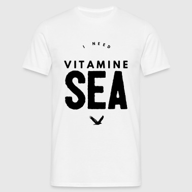 I NEED VITAMINE SEA - Men's T-Shirt