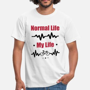 My Normal Life Bike, cycle, cycling - Maglietta da uomo