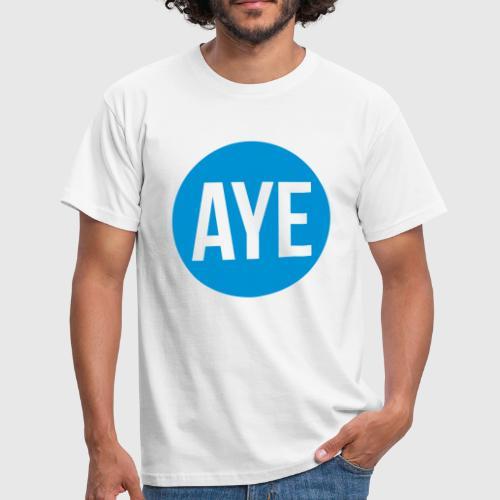 1cee97d5 Scottish Referendum Aye by MegaLawlz   Spreadshirt