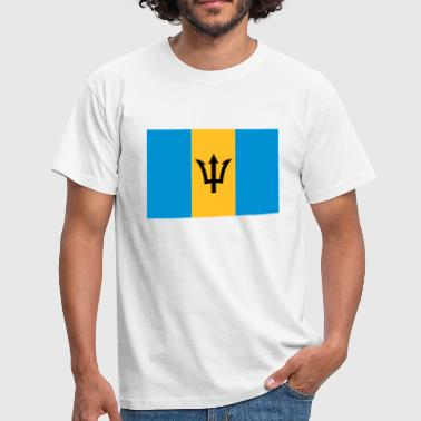 barbados flag - Men's T-Shirt