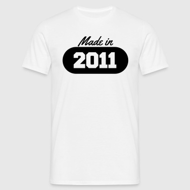 Made in 2011 - Men's T-Shirt