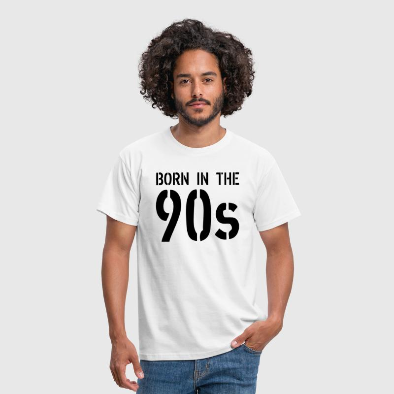 Born In The 90s - Camiseta hombre