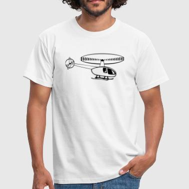 Helikopter helikopter - Mannen T-shirt