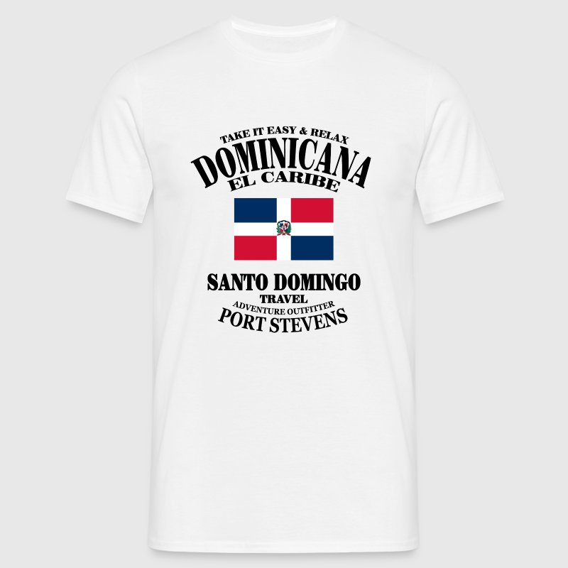 Dominican Republic - T-shirt Homme