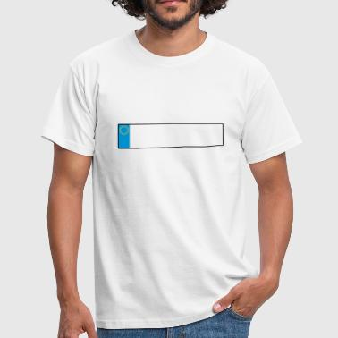 license plate europe_g1 - Men's T-Shirt