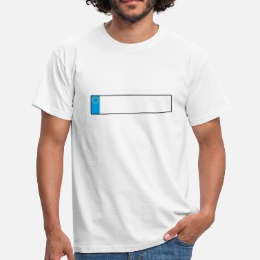 License Plate license plate europe_g1 - Men's T-Shirt