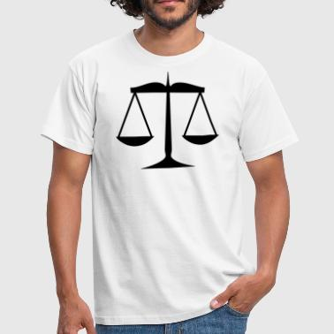 Justice Authority Libra of justice - Men's T-Shirt