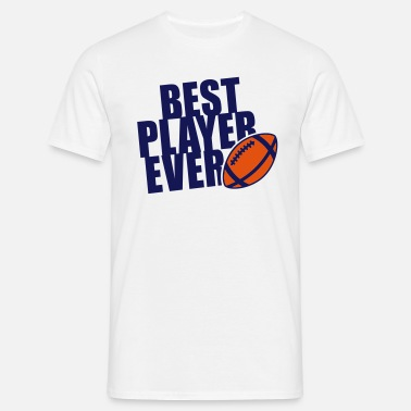 Best Football BEST FOOTBALL / RUGBY PLAYER EVER 2C T-Shirt NW - Maglietta da uomo