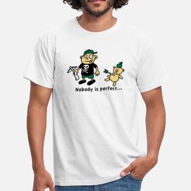Wilhelm Tell nobody_is_perfect_white - Männer T-Shirt