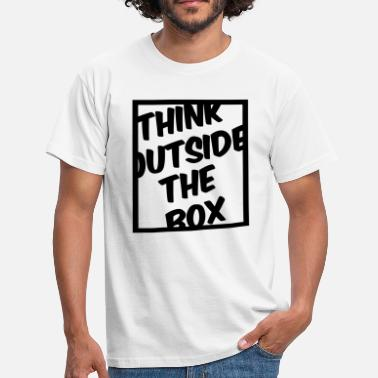 Think Outside The Box Think Outside The Box - T-shirt Homme