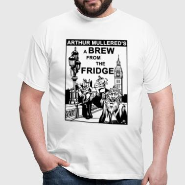 A Brew from the Fridge v2 - Men's T-Shirt