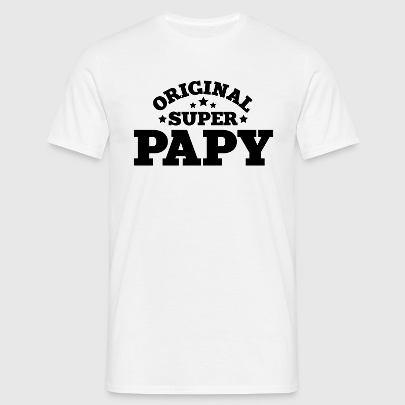 original super papy - T-shirt Homme