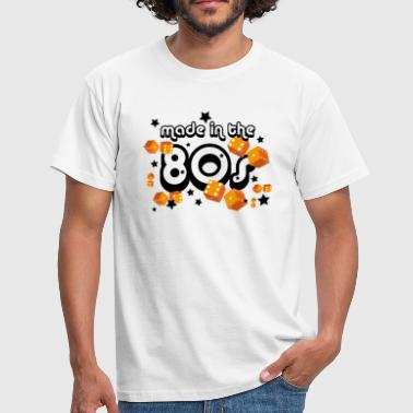 Made in the 80s – Orange - Männer T-Shirt