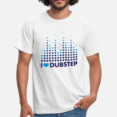Dubstep I Love Dubstep - Männer T-Shirt