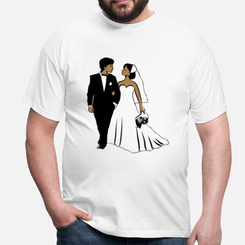 Heirat glücklich braut bräutigam von Motiv-Lady | Spreadshirt
