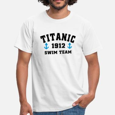 1912 Titanic 1912 SwimTeam - Mannen T-shirt