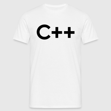 C++ (C Plus Plus) - Men's T-Shirt