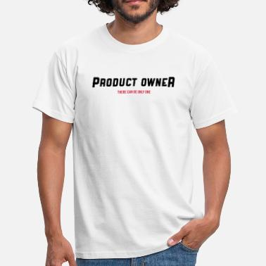 Product Owner Product Owner - There can be only one - Männer T-Shirt