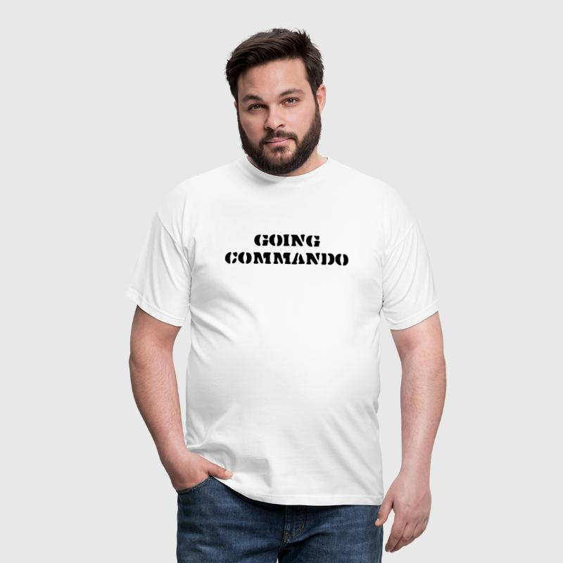going commando - Men's T-Shirt