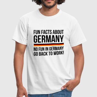 Germany Fun Facts - T-shirt Homme